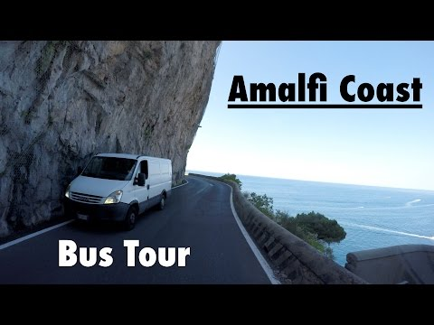 Bus Tour at Amalfi Coast