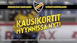 Sydämeltään savolainen - ylpeästi kuopiolainen I KalPan kausikortit myynnissä nyt!