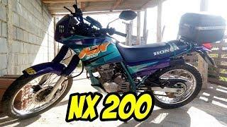 ÓTIMA MOTO PARA TERRA E ASFALTO - HONDA NX 200