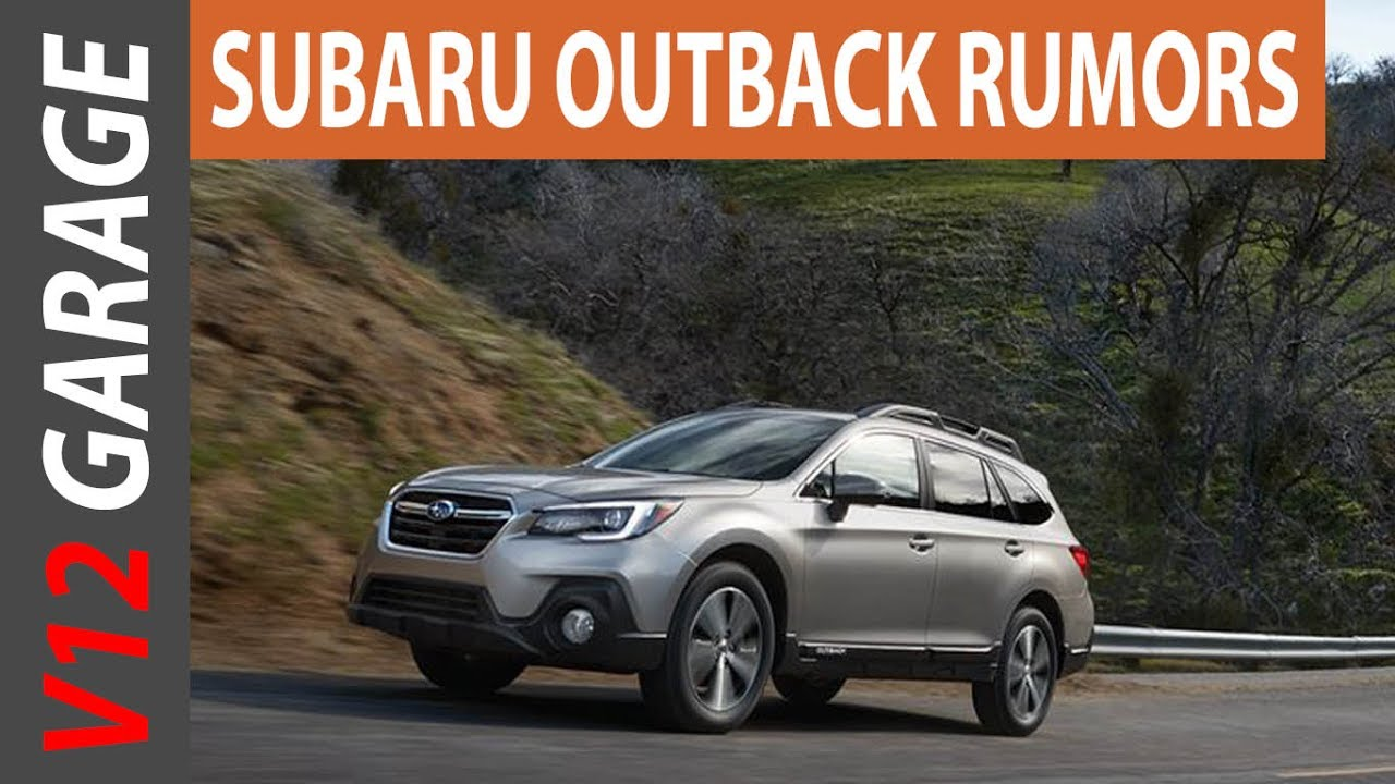 2018 Subaru Outback Changes Rumors And Release Date