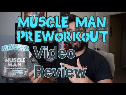 Modern Man Muscle Man Pre Workout Review