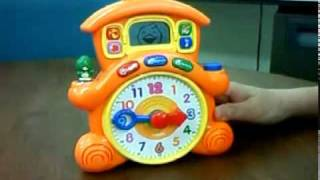 Vtech 「learning Time Cuckoo Clock」のlearnモード