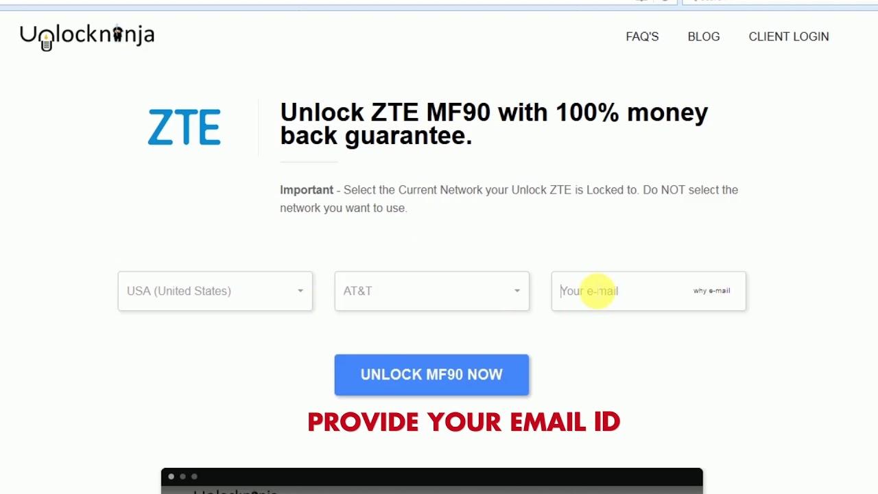 Unlock a ZTE Phone | ZTE Unlock Code | Unlockninja