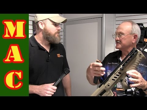 Jerry Miculek and the Tavor