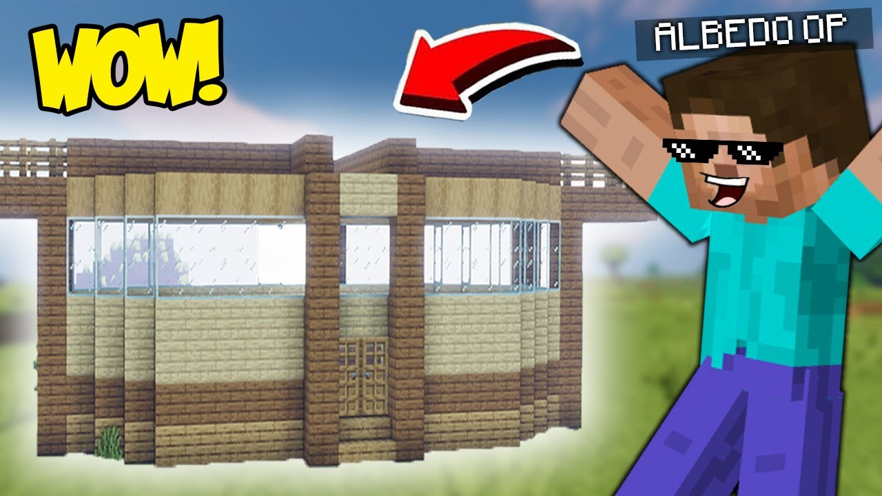 I MADE AN EPIC MODERN HOUSE in MINECRAFT 1.17 (part 2)