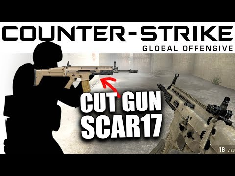Cut Content of CS:GO - SCAR17 Assault Rifle - CCCS#28