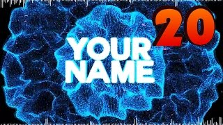 TOP 10 Intro Template #20 Sony Vegas Pro + Free Download