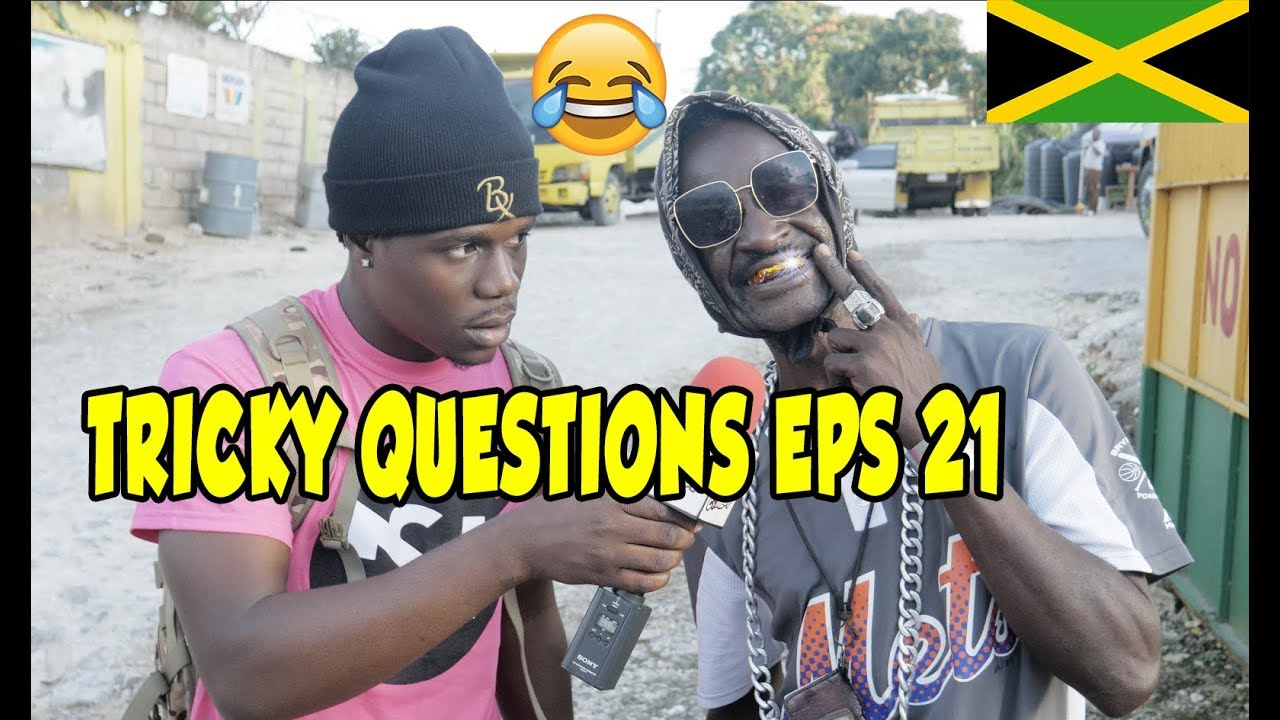 Trick Questions In Jamaica Episode 21 [Kellits Clarendon] @JnelComedy