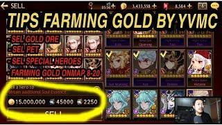 Seven Knights - TIPS Farming GOLD [YVMC WAYS]