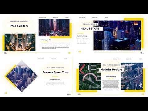 Real Estate Slideshow - After Effects template - 동영상