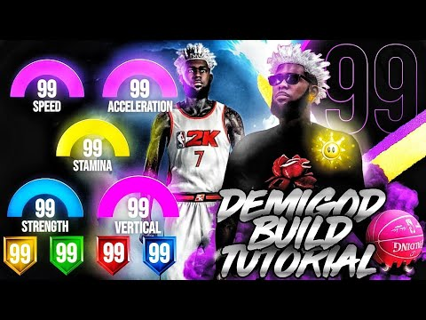 The ABSOLUTE BEST BUILD TUTORIAL. HOW TO MAKE A DEMIGOD ON NBA 2K20