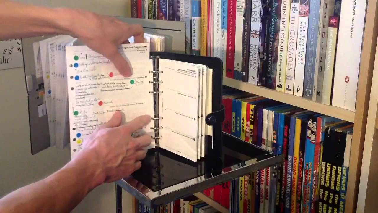 filofax personal or a5 size youtube. Black Bedroom Furniture Sets. Home Design Ideas