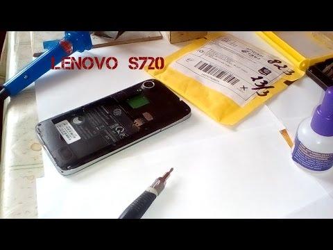 Ремонт замена слота симкарт смартфона Lenovo S720