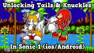 Unlocking Knuckles Sonic Ios Android