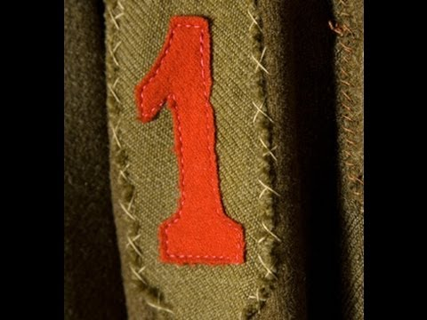 History of the Big Red One Patch