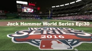 MLB 14 The Show (PS4): Jack Hammer World Series Vs Washington Nationals Ep:30