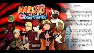"Naruto Shippuden OP16 ""Silhouette"" Piano Sheets + Midi (Theishter Version)"