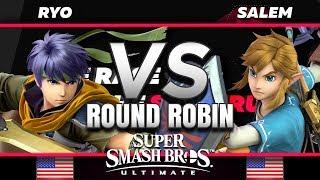 Ryo (Ike) vs. Salem (Link) - RR - The Race for the Spectrum