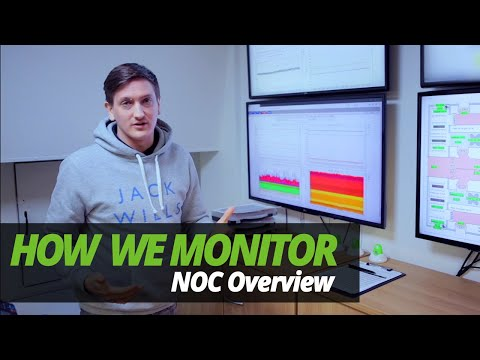 A DAY in the LIFE of a DATA CENTRE   HOW WE MONITOR   EP 1   BRIEF NOC OVERVIEW!