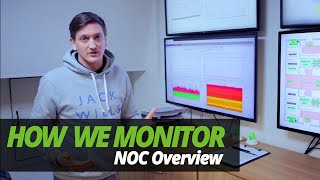 A DAY in the LIFE of a DATA CENTRE | HOW WE MONITOR | EP 1 | BRIEF NOC OVERVIEW!