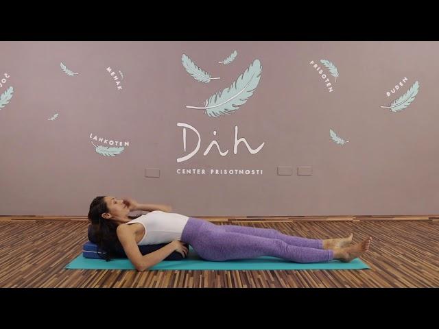 Raziskovanje mehkobe telesa preko giba in diha