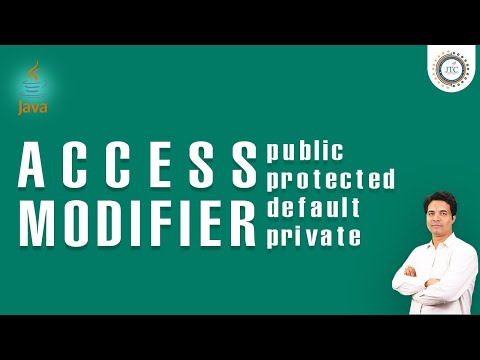 Difference between private , public , protected , public in java  with example by Som Sir
