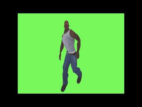 Cj Fortnite Default Dance Green Screen By PugmaPug [Original] - 10 Saat