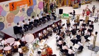 [2010-06-26]船橋市立古和釜中学校吹奏楽(1)