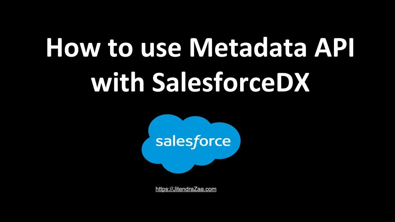 Use Metadata API with Salesforce DX