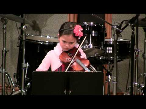 Gabriella R  44 School of Music  Seattle Concert  Spring 2014  Violin Lessons