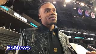 Errol Spence Jr On Fighting Terrence Crawford EsNews Boxing