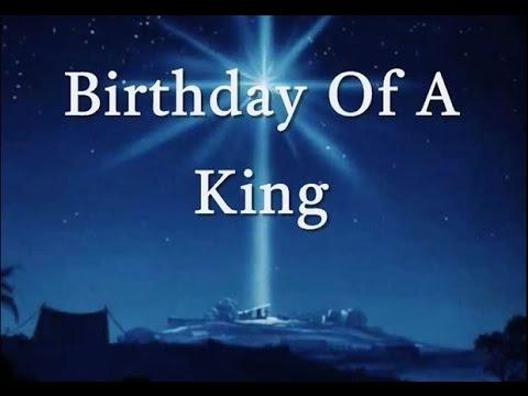 Birthday Of A King Lyrics