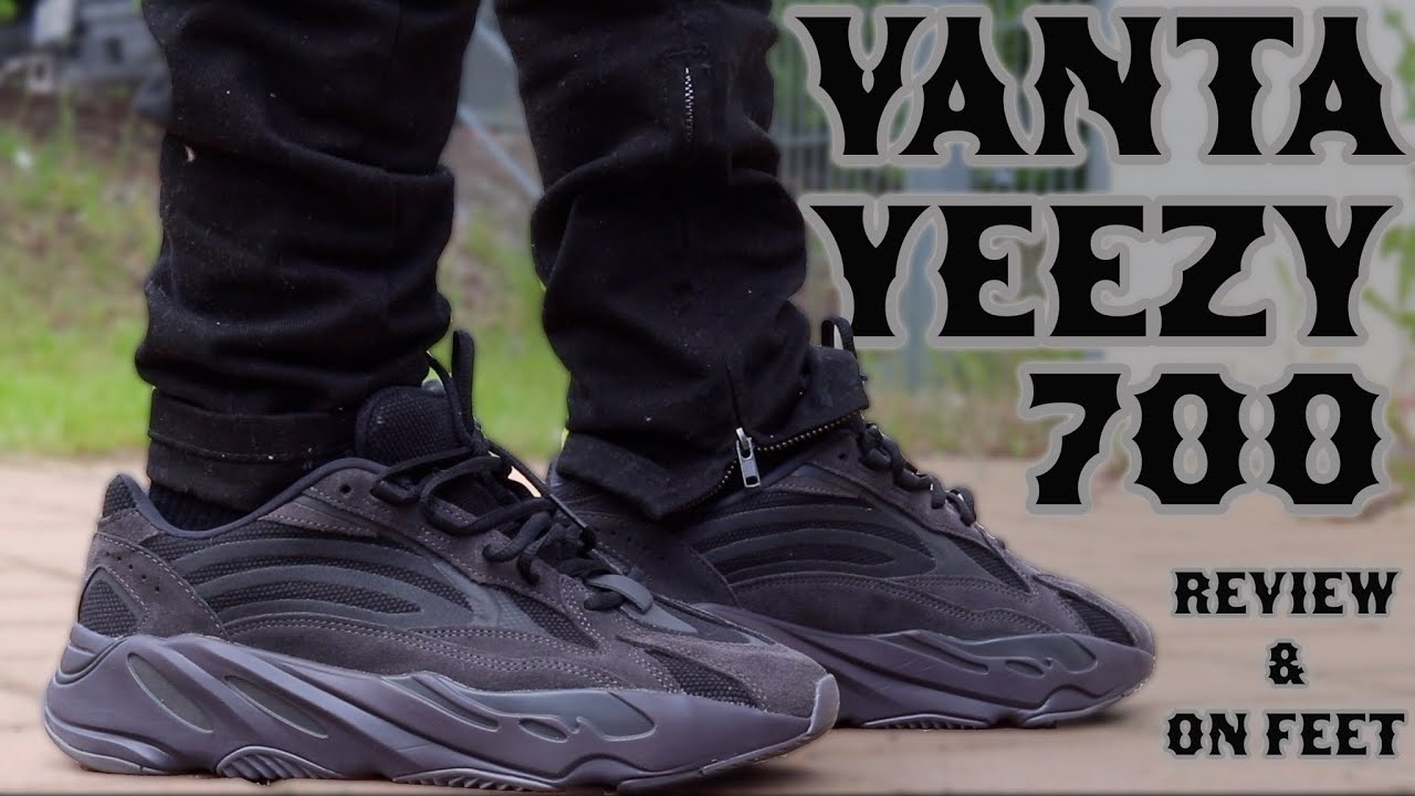 super popular f1687 138da Adidas YEEZY Boost 700 V2 VANTA REVIEW + ON FEET