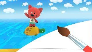 МИМИМИШКИ - Необитаемый остров - Мультик Раскраска с Ми -ми-мишками