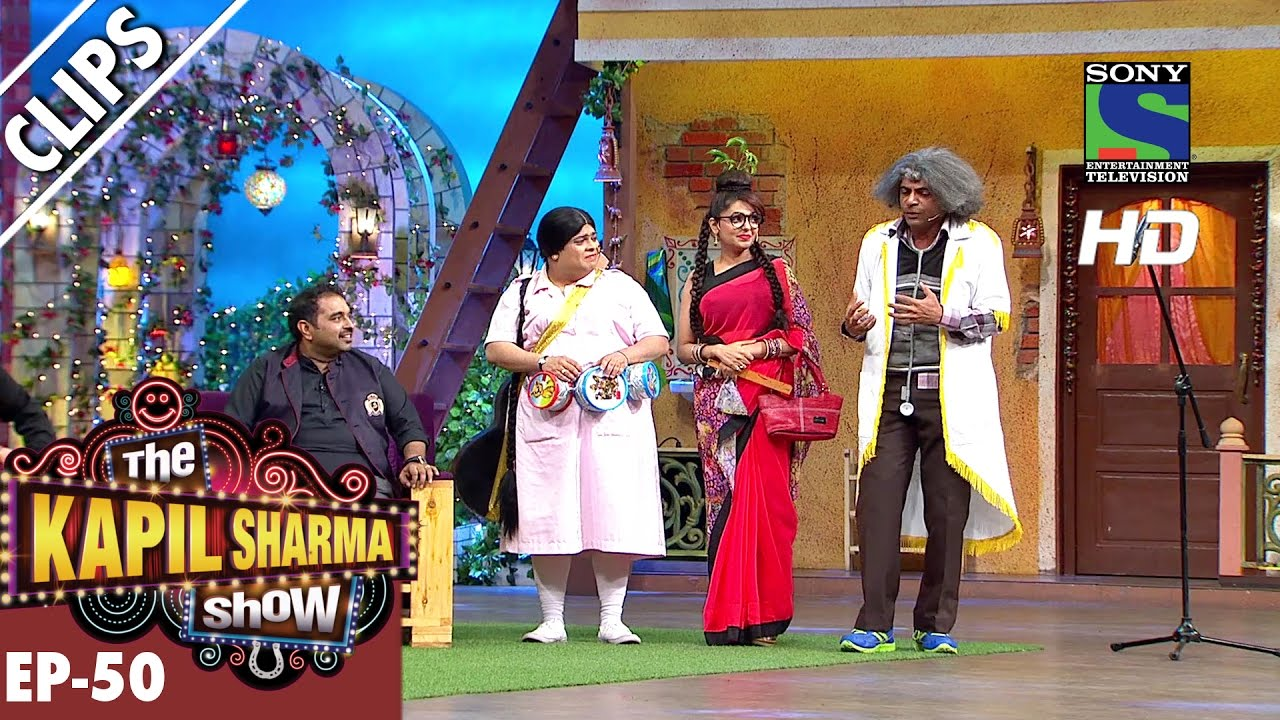Dr  Gulati tries breathless singing -The Kapil Sharma Show-Ep 50-9th