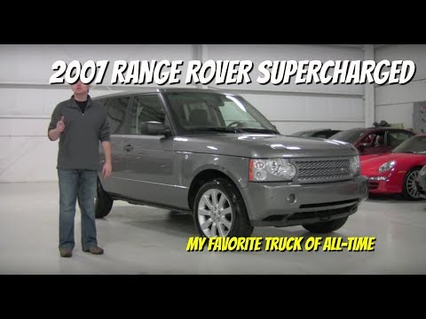 2007 Range Rover Supercharged - Throwback Friday Video Test Drive Review with Chris Moran