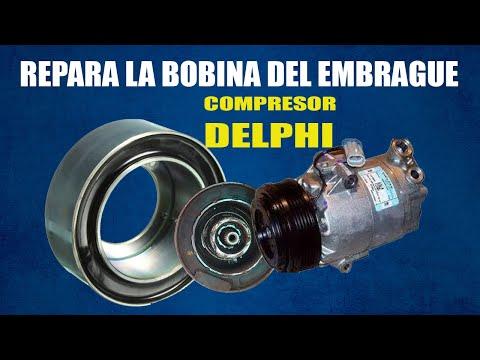 Cómo Reparar O Cambiar La BOBINA De Un COMPRESOR (Delphi) | VW GOL - POINTER