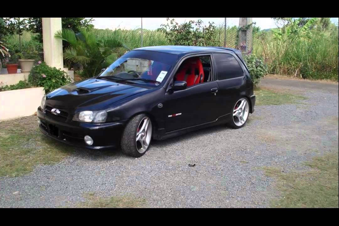 toyota starlet tuning youtube. Black Bedroom Furniture Sets. Home Design Ideas