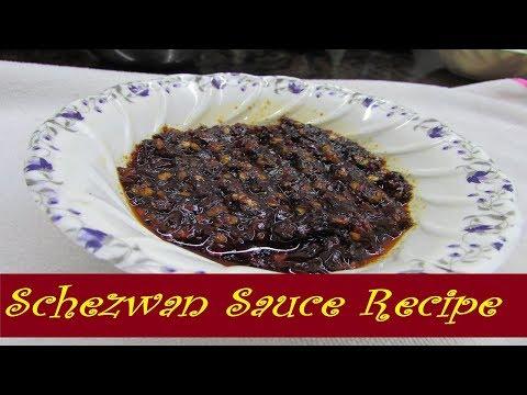 Homemade Schezwan Sauce Recipe  Chinese Shezwan Chutney Recipe  स्चेजवान सॉस रेसिपी