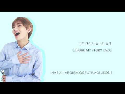 BTS V - 'Little Star' (Cover) [Han Rom Eng lyrics]
