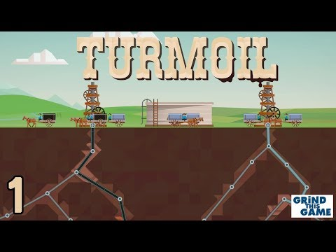 TURMOIL #1 - Oil Drilling Game - Will We Get Rich Or Go BANK
