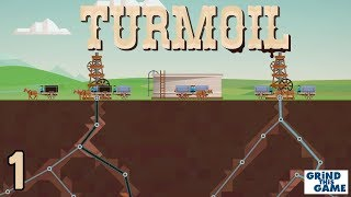 TURMOIL #1 - Oil Drilling Game - Will We Get Rich Or Go BANKRUPT?