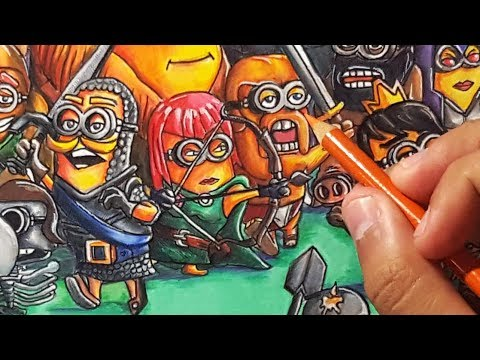If Minions Were Clash Of Clans & Clash Royale Characters