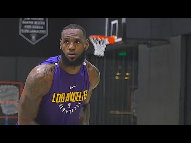 lebron-james-first-lakers-workout