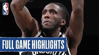 SESI FRANCA at NETS | SEVEN Nets Reach Double Figures |  2019 NBA Preseason
