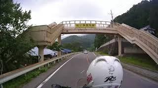 2018/07/18 国道122号 足尾〜大間々 バイク動画 倍速編集