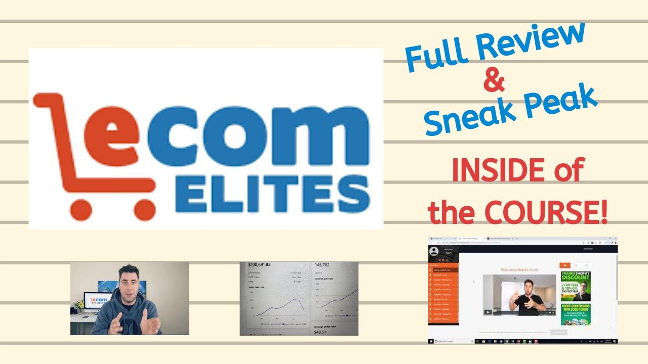 A Complete Student Review of Franklin Hatchett's Ecom Elites