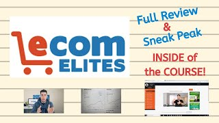 Franklin Hatchett's Ecom Elites Course: Full Student Review & Sneak Peak Inside The Course!