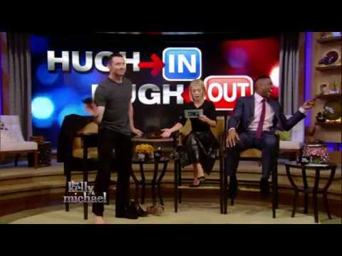 Hugh Jackman Strips Down for Kelly and Michael