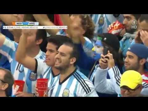 Argentina National Anthem - WORLD CUP 2014